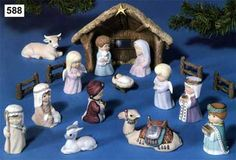 84 14 Yesos Navidad y Pesebres Ceramic Bisque, Xmas, Christmas, Mini, Ceramics, Reyes, Painting, Animals, How To Paint