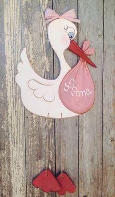 Articoli simili a Stork baby shower New born Wood stork New baby New mom Gift New dad Gift Stork sign Baby shower decorations New born girl or boy Birth su Etsy Baby Shower Gift Basket, Baby Shower Gifts, Baby Gifts, Teen Gifts, Girl Gifts, Shower Bebe, Girl Shower, Storch Baby, Dibujos Baby Shower