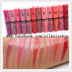 NYX Butter Gloss - 200k/1c | by Silknie Shop <3