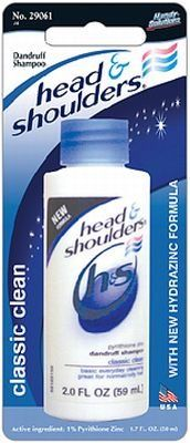 Head and Shoulders Shampoo 2 oz. (3-Pack) * You can find out more details at the link of the image. (This is an affiliate link and I receive a commission for the sales)