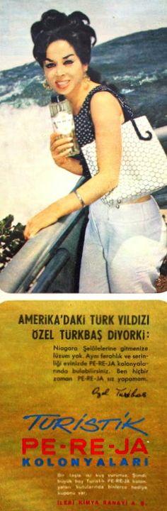 OĞUZ TOPOĞLU : özel türkbaş 1966 pereja reklamı