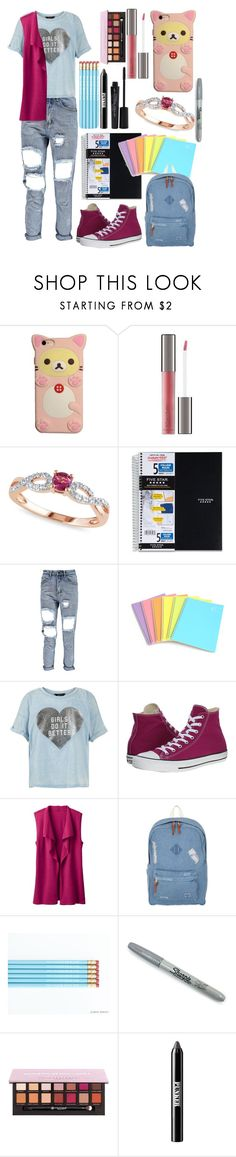 """Anything You Can Do I Can Do Better"" by cambam435 on Polyvore featuring Perricone MD, Allurez, New Look, Converse, TravelSmith, Herschel, Sharpie, Anastasia Beverly Hills, Ardency Inn and Smashbox"