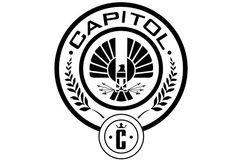 Pegatina Los juegos del hambre - The Capitol MockingJay Hunger Games Logo, Hunger Games Party, Hunger Games Movies, Presidente Snow, Tribute Von Panem Film, Hunger Games Districts, The Hunger, Soccer Logo, Catching Fire