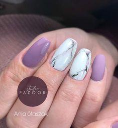 #nails #nailsinspiration #marble #marblenails #pinkmarblenails #studiopazoor #inspiracjepaznokciowe #kwadratowepaznokcie #ballerinanails #trumienki #fioletowepaznokcie #nails2inspire #paznokcie #długiepaznokcie Nails, Beauty, Finger Nails, Beleza, Ongles, Nail, Nail Manicure