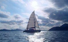 Sailing Dubrovnik Elafiti islands, Croatia