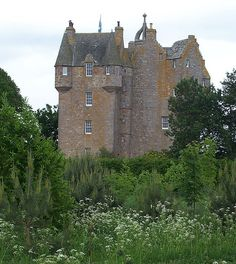Castle Stuart, granted by Mary Queen of Scots to her half-brother, James Stuart 1st Earl of Moray (one of the many bastard sons of James V), who started construction of the castle before being murdered in 1542.