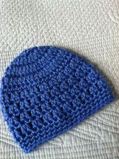 Blueberry Beanie Crochet Baby Hat Newborn by LakeviewCottageKids, $15.00