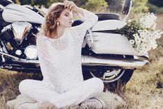 White Rider | Natasha Ivanova | Maria Markevich #photography