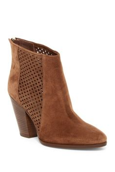 Auletta Perforated Bootie