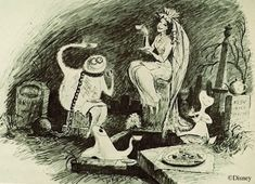 Image result for haunted mansion attic sketch