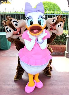 Daisy, Chip, and Dale