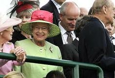 Queen Elizabeth II at Ky. Derby 133 in 2007.  She knows how to wear a hat!