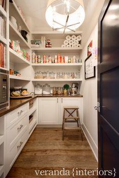 veranda interiors: Our Home {Pantry}