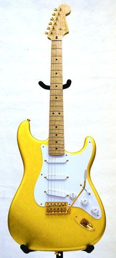 Fender Custom Shop Master Built Series Mark Kendrick Goldleaf stratocaster