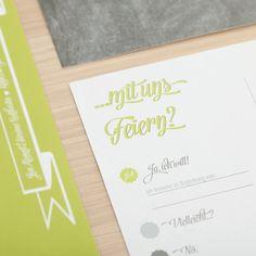 Individuelle Papeterie mit Prägezange von Fabelhafte Gestaltung | Hochzeitsblog - The Little Wedding Corner