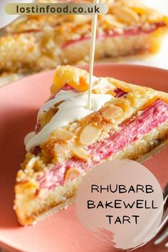 Tart Recipes, Fruit Recipes, Baking Recipes, Dessert Recipes, Rhubarb Recipes, Irish Recipes, Quick Recipes, Shortcrust Pastry Tarts, Pie