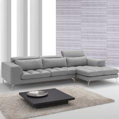 Grey Leather Sofa Sets