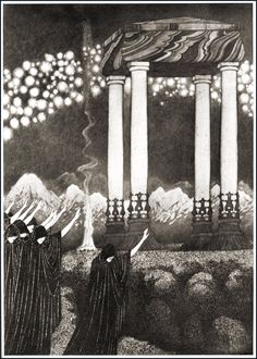 :: Sidney Sime - Tomb of Morning ::