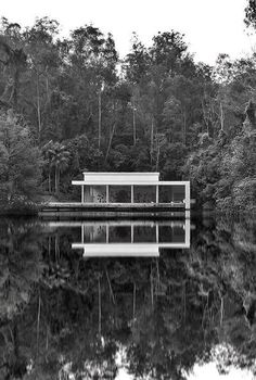 """""""The new architectural of the Tunga pavilion, developed by Rhizome architecture office, of Belo Horizonte, consists of a large open building with glass walls that allow the works look from the outside. The building host facilities and eight large sculptures produced in more than 30 years of work by Tunga, one of the first artists who had works in the collection of Inhotim"""" - THE CLASSY TRAVELER - (Tunga Pavilion at Inhotim, Brazil: contemporary art centre and botanical garden)"""