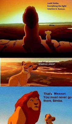 """That's Missouri. You must never go there, Simba."" #RCJH"