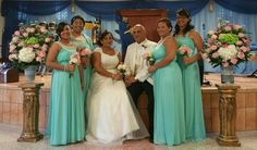 My Beauyiful Family in my Vintage Wedding!!!