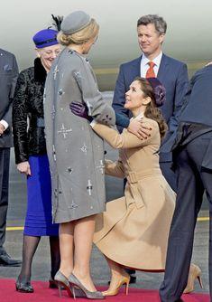 El esperado encuentro de Máxima de Holanda y Mary de Dinamarca - Foto 2