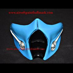 Mortal Kombat airsoft mask halloween costume cosplay Sub Zero MA140