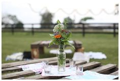 backyard garden party, fresh cut flowers, low-seating, wooden pallets, garden lights