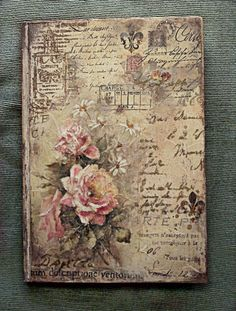 decoupage notebook cover - Αναζήτηση Google