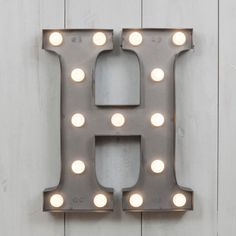 "Vegas Metall 11 ""Mini L.E.D. Brief Lights - H"