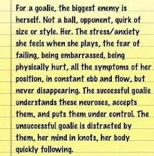 Yes Goalie Quotes, Lacrosse Quotes, Soccer Goalie, Play Soccer, Soccer Stuff, Soccer Post, Soccer Motivation, Soccer Girl Problems, Funny Texts Crush