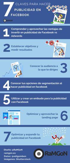 Infografía 7 claves para hacer publicidad en Facebook