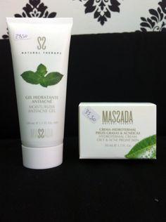 20% de descuento en cremas anti acné de la marca Massada. #barcelona #estetica #cosméticos #cremas #antiacne #acné #massada