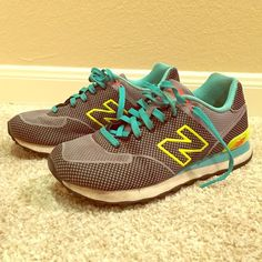 """Selling this """"New Balance WL574 Running Shoes"""" in my Poshmark closet! My username is: saucyfashion. #shopmycloset #poshmark #fashion #shopping #style #forsale #New Balance #Shoes"""