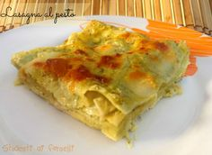 lasagna al pesto ricetta primo piatto gustoso al forno