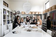 office organization!!! dying  http://atlantahomesmag.com/article/designer-offices/