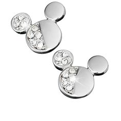 Mickey Mouse Icon Earrings by Arribas | Jewelry | Disney Store