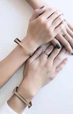 MyBelonging x LZZR Jewelry | Identity bracelet + ring