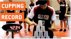 Fastest Cup Stacker Sets New World Record Cup Games, World Records, Videos, Amazing