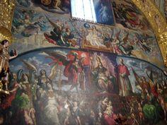 Cristobal de Villalpando. Sacristía de la catedral de Mexico. Iglesia triunfante -