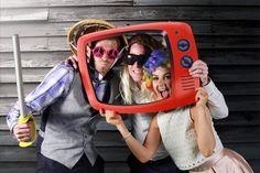 Woburn wedding green screen photo booth #karenandfran Green Screen Photo, Photo Booth, Round Sunglasses, Wedding, Fashion, Valentines Day Weddings, Moda, Photo Booths, Round Frame Sunglasses