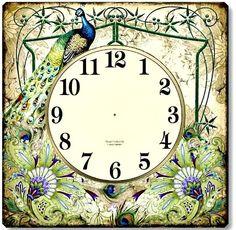 Printable Vintage Clocks