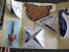 The Bough Family - My Blue Boat Lapbook & Ideas