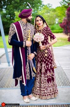 Here's a look at our beautiful clients Aman and Kelly both dressed in regal pieces designed by #Wellgroomedinc for their wedding ceremony ✨ Are you looking to start the design process of the bridal outfit of your dreams? Or that showstopping party wear piece? Email us at sales@wellgroomed.ca to set up a free consultation with one of our fashion consultants!