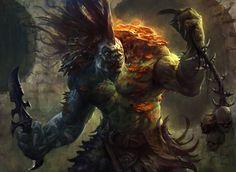 Varolz the Scar Striped (Dragons Maze) by AdamPaquette on deviantART