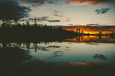 Sunset on the mountain by Go.70°North, via Flickr