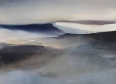 "Saatchi Art Artist Sabrina Garrasi; Painting, ""Sunrise / Abstract Landscape""…"
