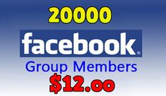 Buy 20000 Facebook Group Members