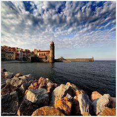 Collioure, France, on the Mediterranean Coast near the border with Spain