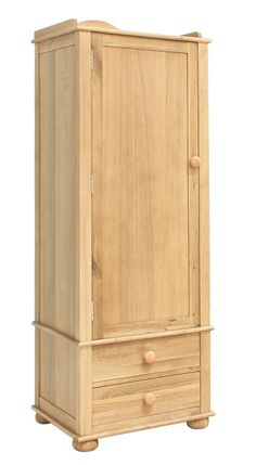 The Baumhaus Amelie children's oak single door wardrobe is crafted from solid oak, select oak veneers with a hard wearing satin lacquer finish. Single Door Wardrobe, Wardrobe Sale, Best Online Furniture Stores, Childrens Bedroom Furniture, Wooden Furniture, Childrens Wardrobes, Wardrobe Furniture, Oak Bedroom, Teak Sideboard